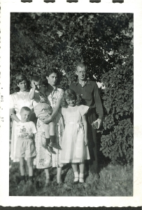 Four of us in River Hills 1957